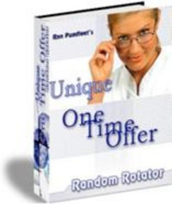Product picture Unique One Time Offer Random Rotator With MRR