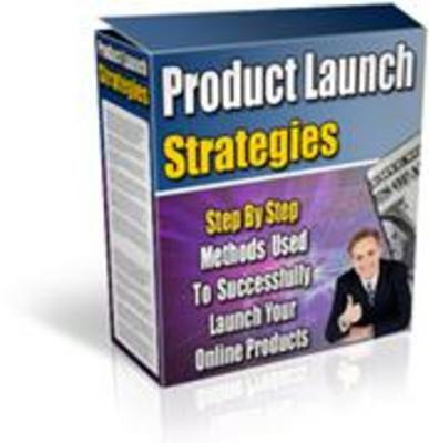 Product picture *All New*  Product Launch Strategies With MRR