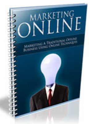 Product picture *NEW*  Marketing Online With MRR