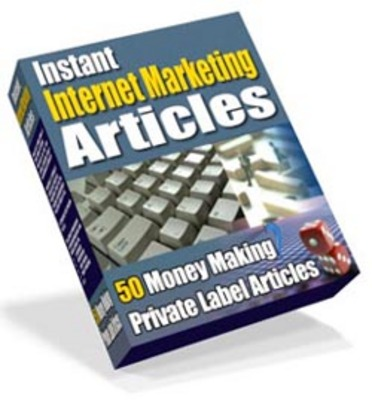 Product picture instant internet marketing articles with mrr