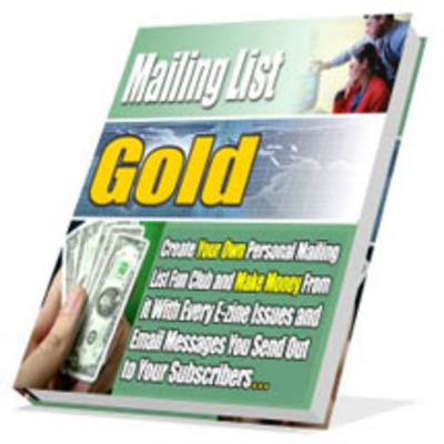 Product picture Mailing List Gold With MRR