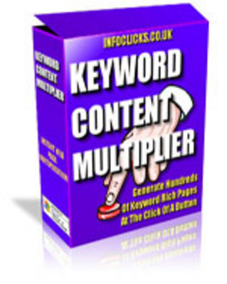 Product picture *New* - Keyword Content Multiplier Software with mrr
