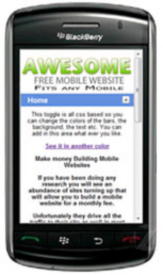Product picture *New* Mobile Template With MRR