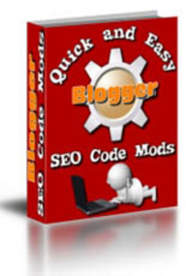 Product picture *New*Quick and Easy Blogger SEO Code Mods with MRR