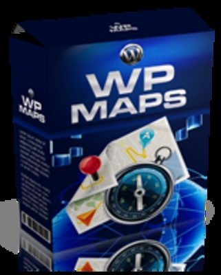 Product picture Wp Maps Plugin, Comes With Master Resale Rights