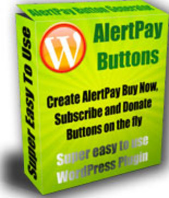 Product picture *New* AlertPay Buttons Plugin with MRR
